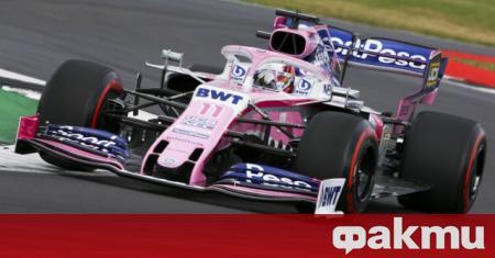 Пилотът на Racing Point Серхио Перес даде втори позитивен тест