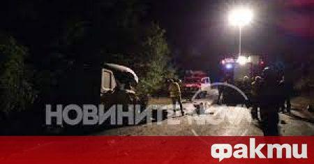 Тежката катастрофа, която стана късно снощи на пътя Русе-Силистра, е