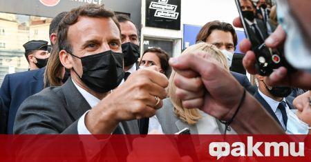 Мъжът, който във вторник удари плесница на френския президент Еманюел