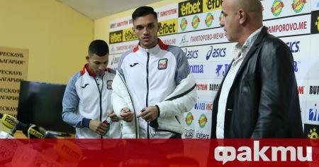 Националните състезатели на България по бокс Радослав Росенов и Уилям