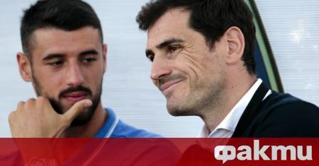 Испанският вратар Икер Касияс припомни тази събота последният си мач