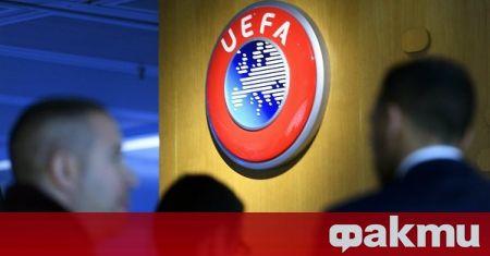 УЕФА работи по нов протокол за борба с коронавируса на