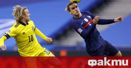 Франция победи с 4:2 Швеция в мач от Лигата на