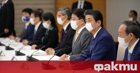 Японският премиер Шиндзо Абе обяви едномесечно извънредно положение в Токио
