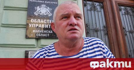 Председателят на партията на българските мъже Росен Марков депозира молба