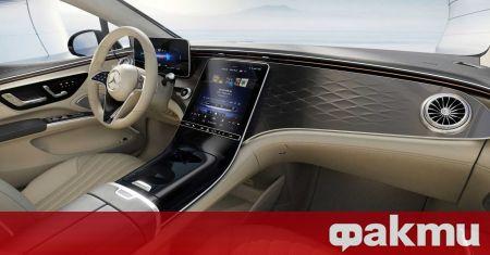 Вчера ви показахме как ще изглежда интериора на новия Mercedes