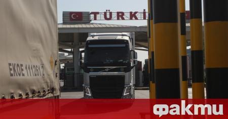 Република Турция е въвела ограничение за шофьори на камиони, идващи