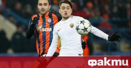 Ченгиз Юндер, който е футболист на Рома е дал своето