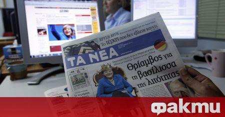 Гръцките радиа и телевизии днес не излъчват новини, съобщи Катимерини.
