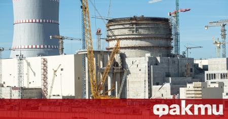 Днес в Първи енергоблок на Беларуската АЕЦ (с основен проектант