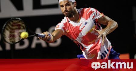 Григор Димитров загуби от канадеца Денис Шаповалов четвъртфинален сблъсък от