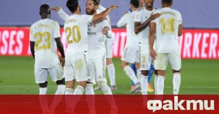 Реал Мадрид направи нова крачка към спечелването на титлата в