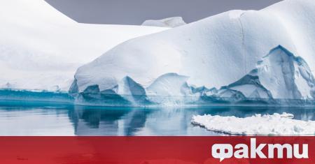 Ледът под ледника Шираза в Източна Антарктида се топи с