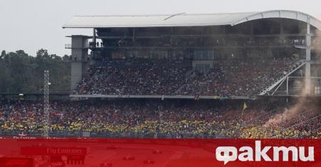 Формула 1 освободи временно почти половината си персонал до края