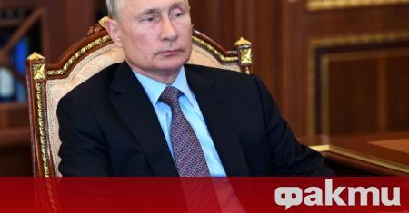 Руският президент Владимир Путин заяви, че е щастлив от високото