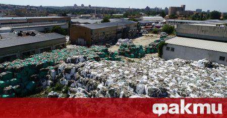 България е внесла над 163 хиляди тона тона отпадъци за