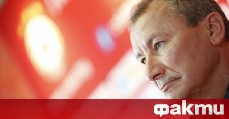 Треньорът на ЦСКА Стамен Белчев бе радостен след драматичната победа
