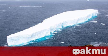 Айсбергът А68 в Антарктика, който беше най-големият в света, се
