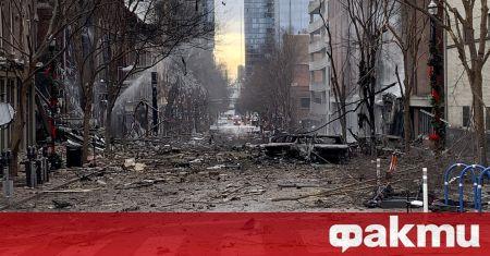 Нападателят, взривил бомба в Нашвил навръх Коледа, е загинал при