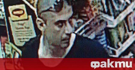 Полицията в Бургас издирва самоличността на млад мъж, направил няколко