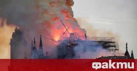 """Катедралата """"Нотр Дам"""", която през 2019 година беше засегната тежко"""