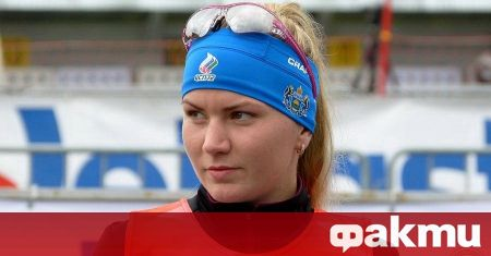 Руската биатлонистка Виктория Сливко радва почитателите си в социалните мрежи