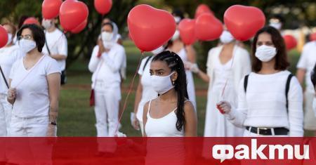 Бразилия премахна данните за заболеваемостта от COVID-19 от правителствения уебсайт