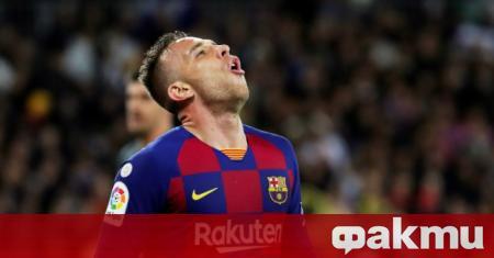 Полузащитникът на Барселона Артур определи Лионел Меси като най-трудния съперник,