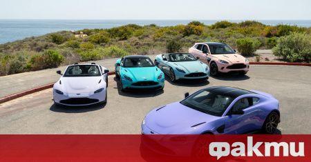 Aston Martin се похвали със значително повишение на продажбите за