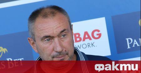 Старши треньорът на Левски Станимир Стоилов записа първа шампионатна победа