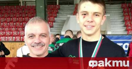 Една най-младите надежди на националния отбор по свободна борба Никола