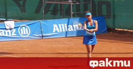 Българката Юлия Стаматова загуби финала на турнира по тенис на