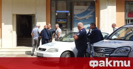 Задържаният за грабежа на банка в Дупница е бивш служител