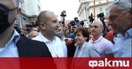 Българският народ се събуди. Това каза за телевизия Евроком бившият