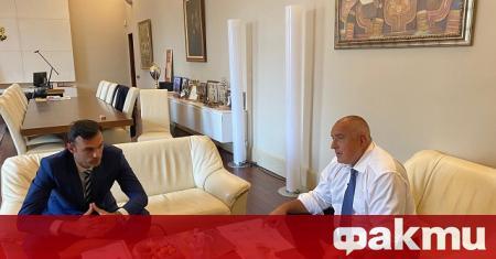 Министър-председателят Бойко Борисов проведе среща с инж. Пеньо Ненов, кмет