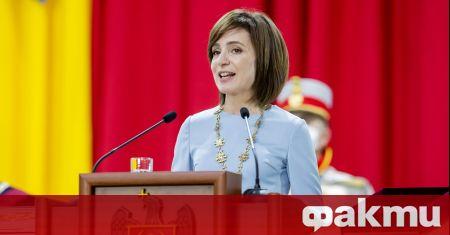 Държавният глава на Молдова Мая Санду иска да изгради добри