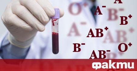 Кръвната група на човек е важен показател за много аспекти