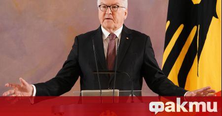 Германският държавен глава обяви днес, че ще търси втори мандат