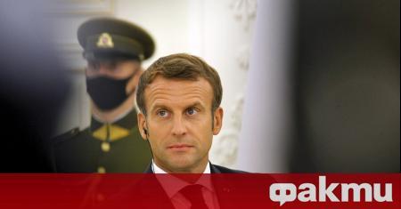 Френският президент - Еманюел Макрон, се срещна днес в литовската