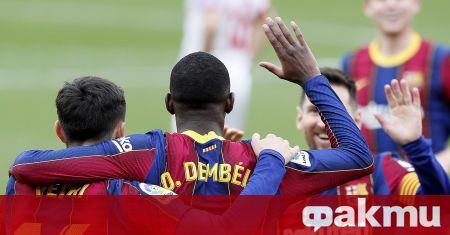 Барселона победи с 2:0 при гостуването си на Севиля и