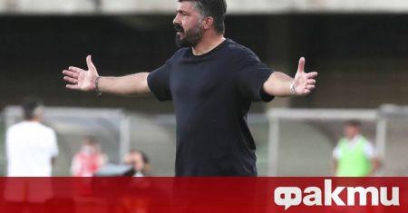 Треньорът на Наполи Дженаро Гатузо логично бе ядосан след отпадането