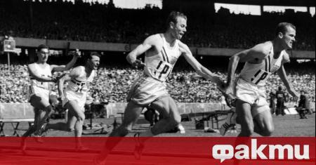 Спринтьорът Боби Мороу, който печели три златни медала на олимпийските