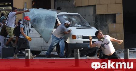 Сблъсъци между участници в протест срещу икономическата криза и последствията