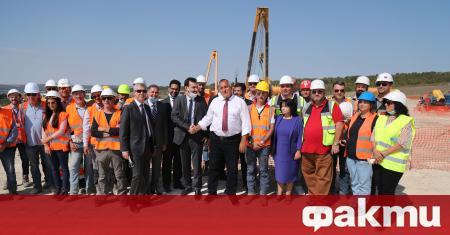 Работим за истинска 100% диверсификация, заяви министър-председателят Бойко Борисов, който