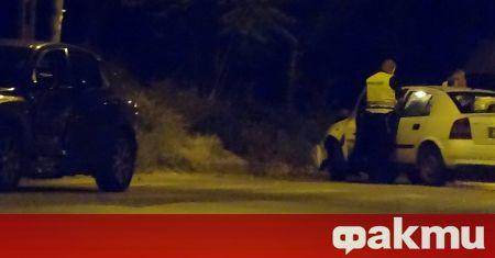 Шофьор е задържан зрелищно в Черноморец при акция на полицията.