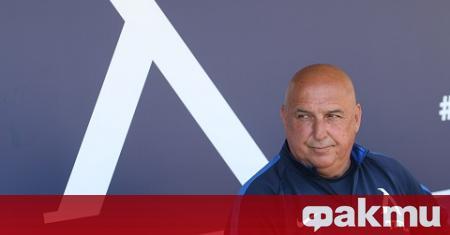Старши треньорът на - ''Левски'' - Георги Тодоров, остана много