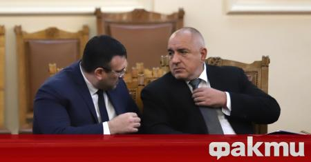 Министър-председателят Бойко Борисов е провел среща с министъра на вътрешните