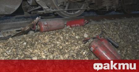 Мъж е бил прегазен от влак в Пловдив. Около 02:00