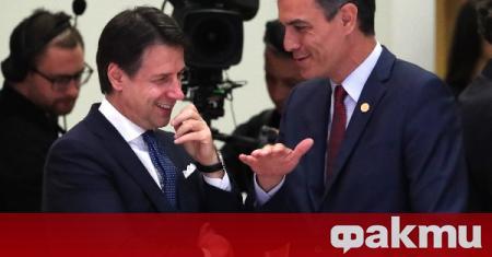 Премиерът на Италия Джузепе Конте обяви одобрение за плана за