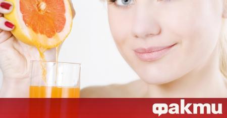 Соковете от някои цитрусови плодове могат да имат отрицателни ефекти